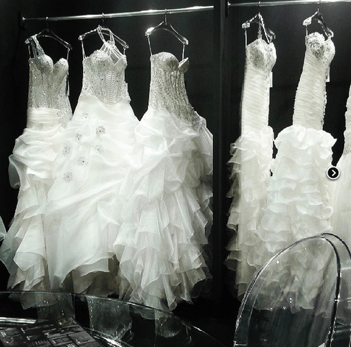 Robes de mariée 2014. Photo via Instagram