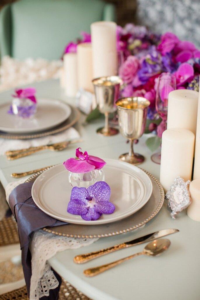 La boda de tus sueños con acentos en Radiant Orchid - Fotos de Katelyn James
