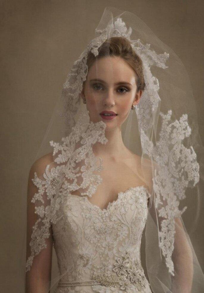 Tips para saber cómo elegir el velo de novia - Foto Eve of Milady & Amalia Carrara