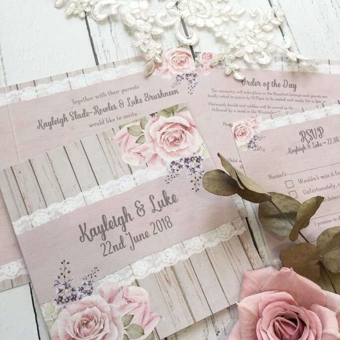 Stylish And Personal The Best Wedding Invitations In The Uk