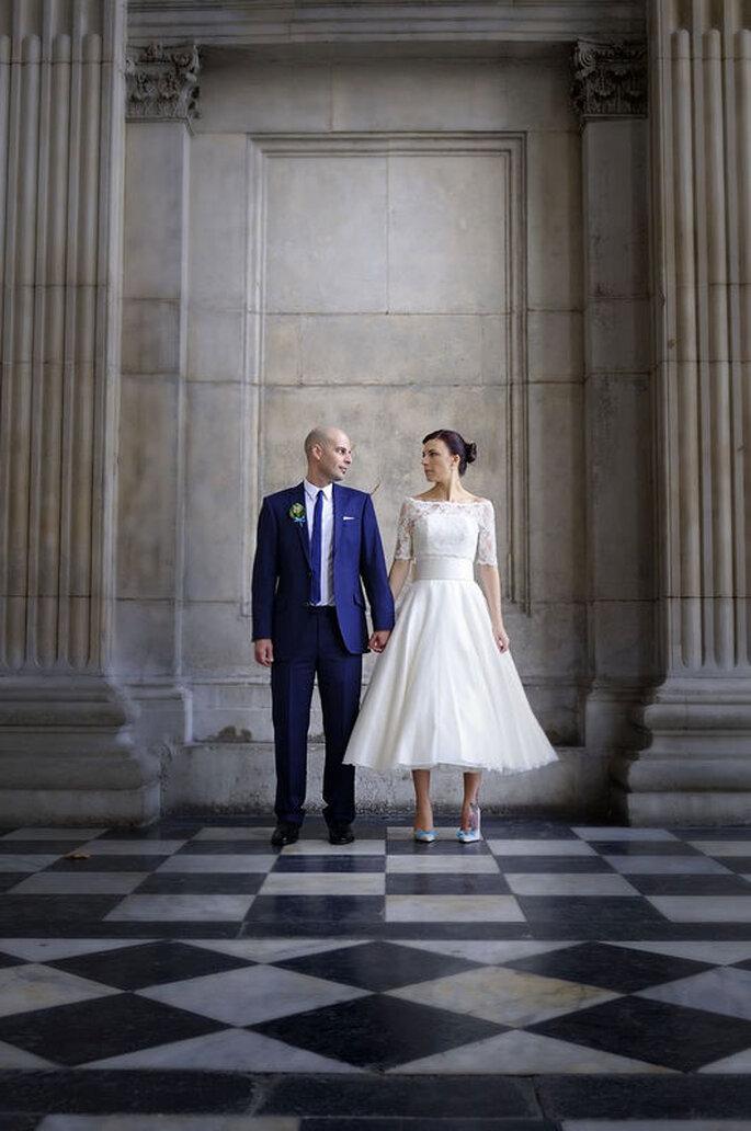 Fotografia coppia di sposi rito civile