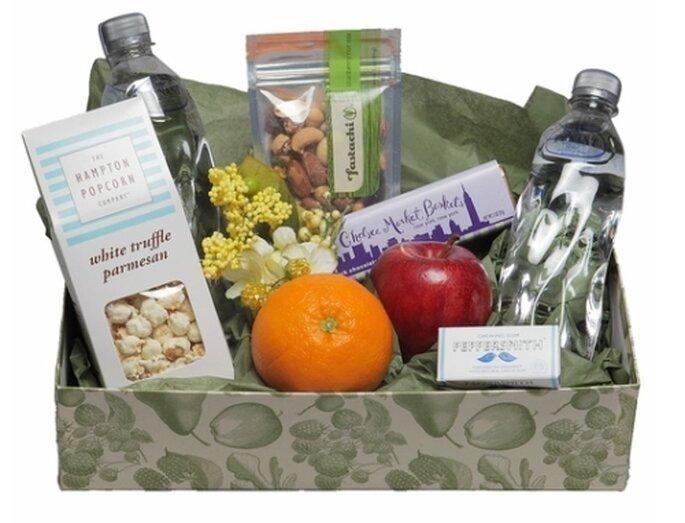 Kit de viaje para el cortejo de boda - Foto Chelsea Market Baskets