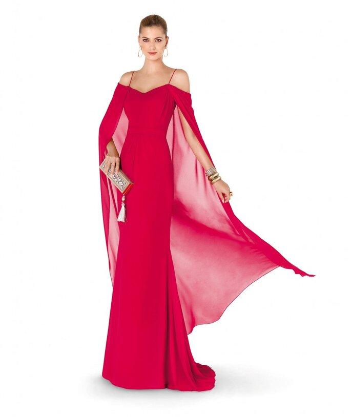 Captura miradas con estos vestidos de fiesta 2015: Rojo