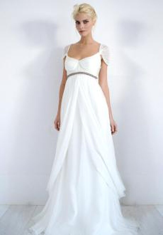 Colección de vestidos de novia Alma Aguilar 2010