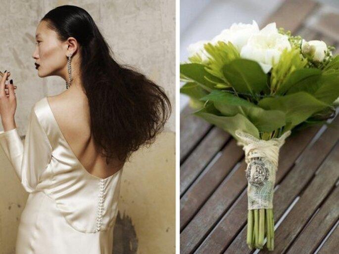 Un ramo de flores para cada tipo de novia - Fotos: Nacho Aguayo y Verderón