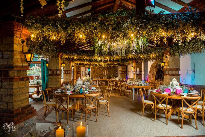 Bodas en Guátika Decoración boda botánica