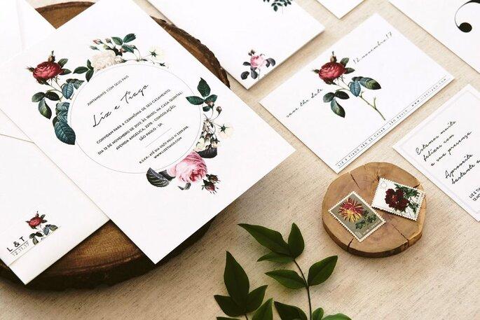 Convite flor