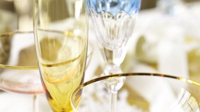 Erst der passende Wein zum Essen rundet das Hochzeitsmenü ab –Foto: bhldn