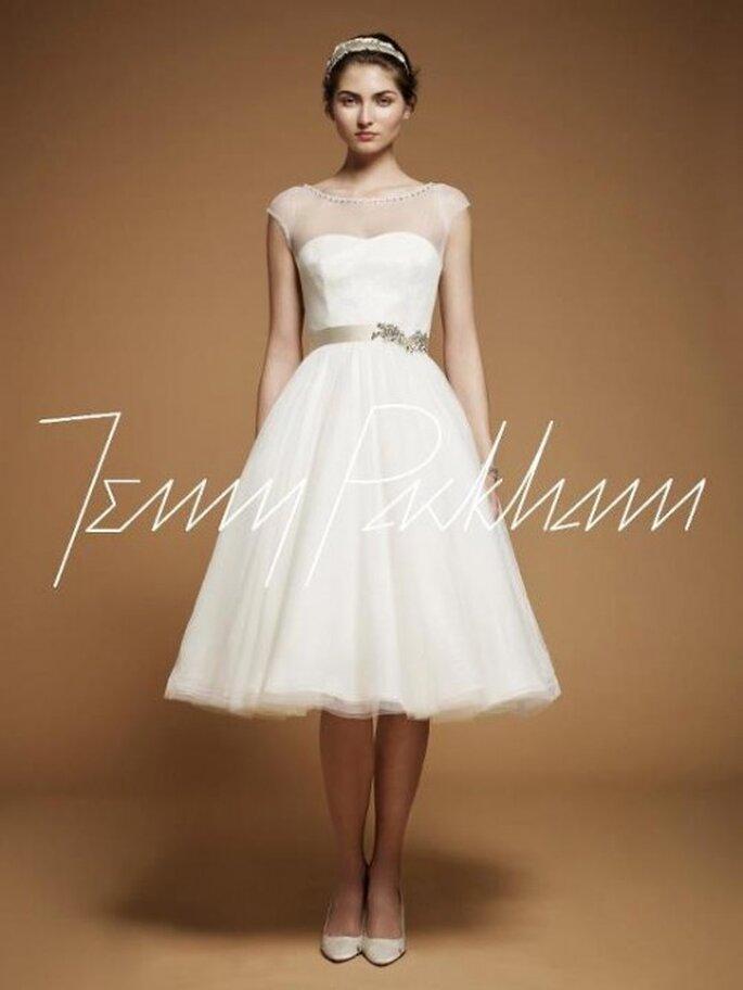 Vestido de novia vintage inspirado en Adele - Foto Jenny Packham Facebook