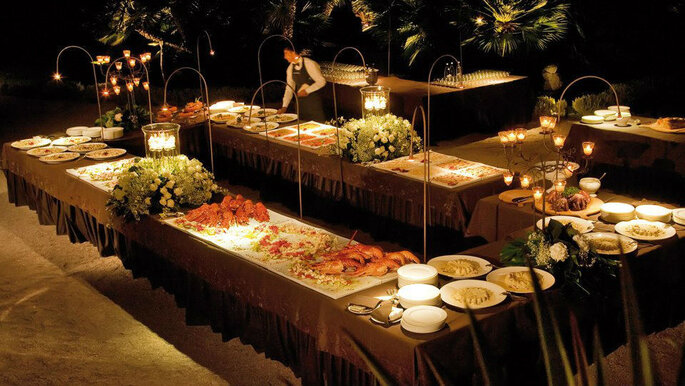 buffet aperitivo matrimoniale