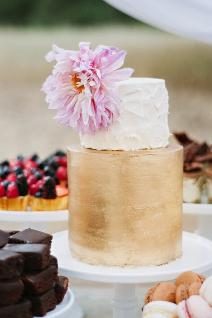 Pasteles de boda que romperán esquemas en 2015 - Foto Green Door Photography