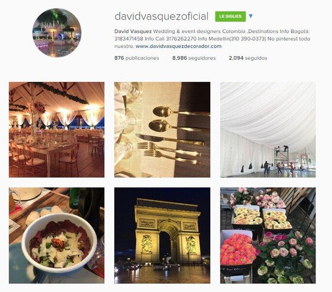 Imagen Vía Instagram David Vásquez