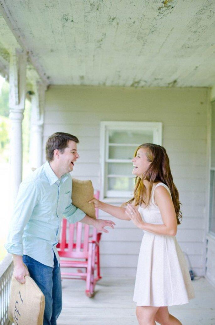 Aplica una buena dosis de risa para lucir perfecta en tu boda - Foto Foxwoods