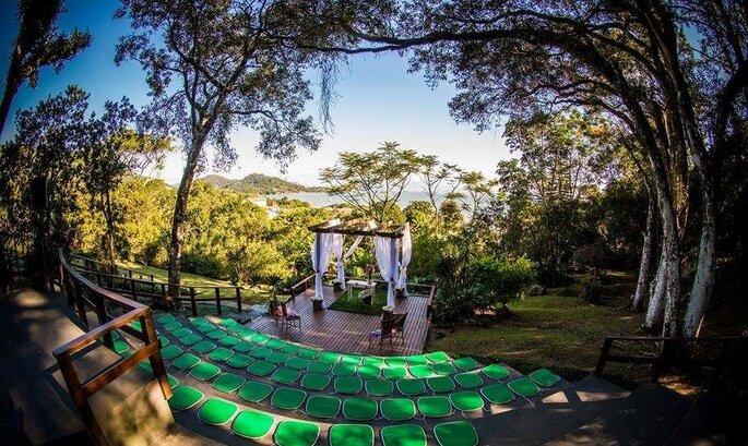 Casamento ar livre Florianopolis