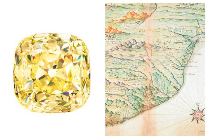Diamante Tiffany, encontrado en Sudáfrica en 1877 / Foto: Tiffany