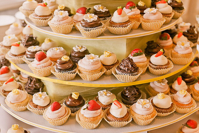 Cupcakes - Crédits photo: Sweet Little Photographs