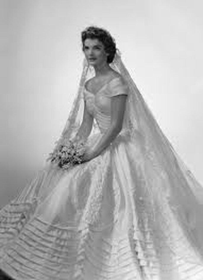 4. Ann Lowe diseñó el vestido de Jacqueline Bouvier Kennedy cuando se casó con John F. Kennedy.