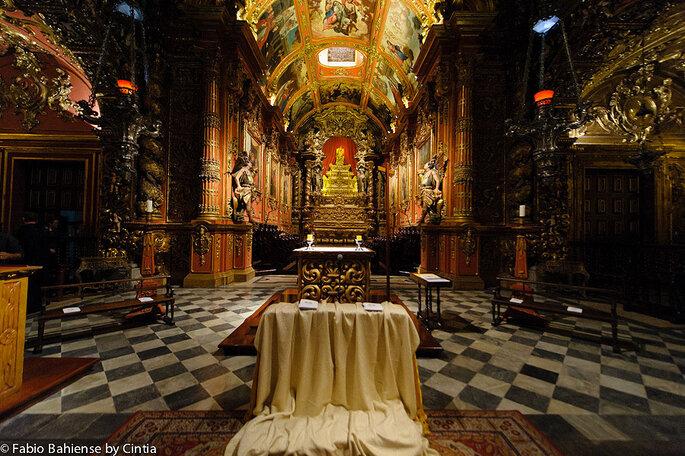 Local da cerimônia: Mosteiro de São Bento | Foto: Fábio Bahiense