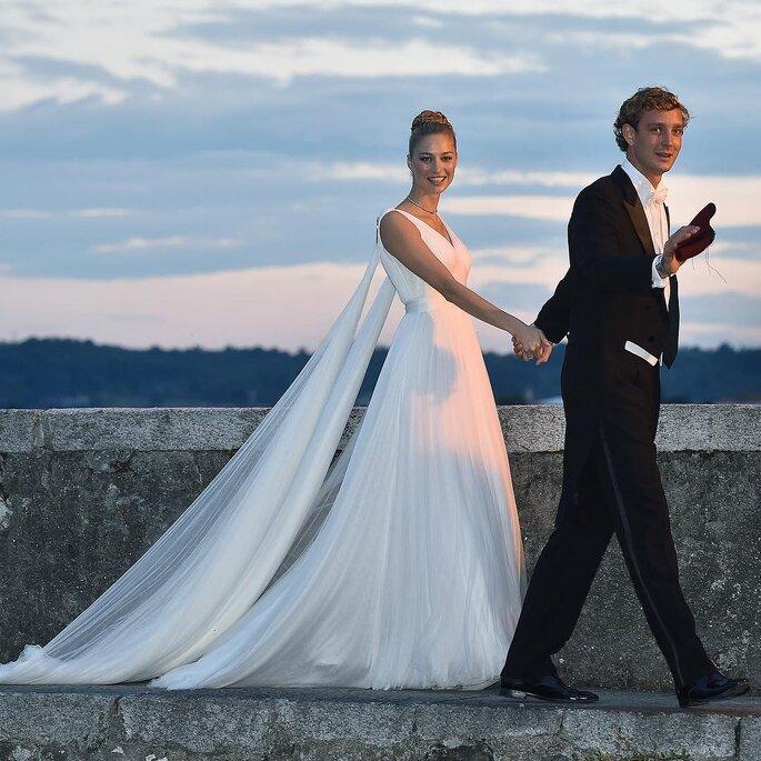Pierre Casiraghi y Beatrice Borromeo.