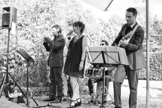 Rien de tel qu'une animation musicale lors du cocktail de mariage - Photo : Anne-Sophie Bost