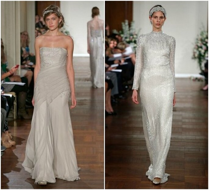 Per chi è alla ricerca di qualcosa di alternativo, ecco le proposte di Jenny Packham Fall 2013 Bridal Collection. Foto: www.jennypackham.com