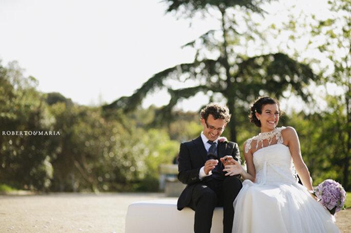 Celebra una boda en un parque