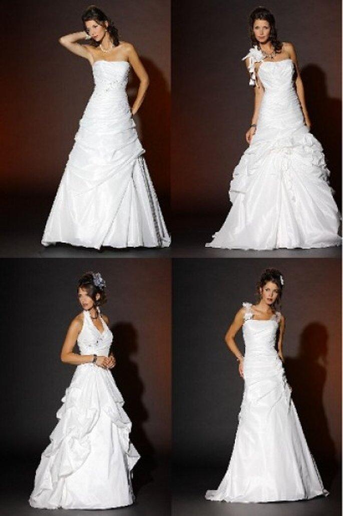 Brautkleider aus der Kollektion 2012 von Brinkman Weddingdesign