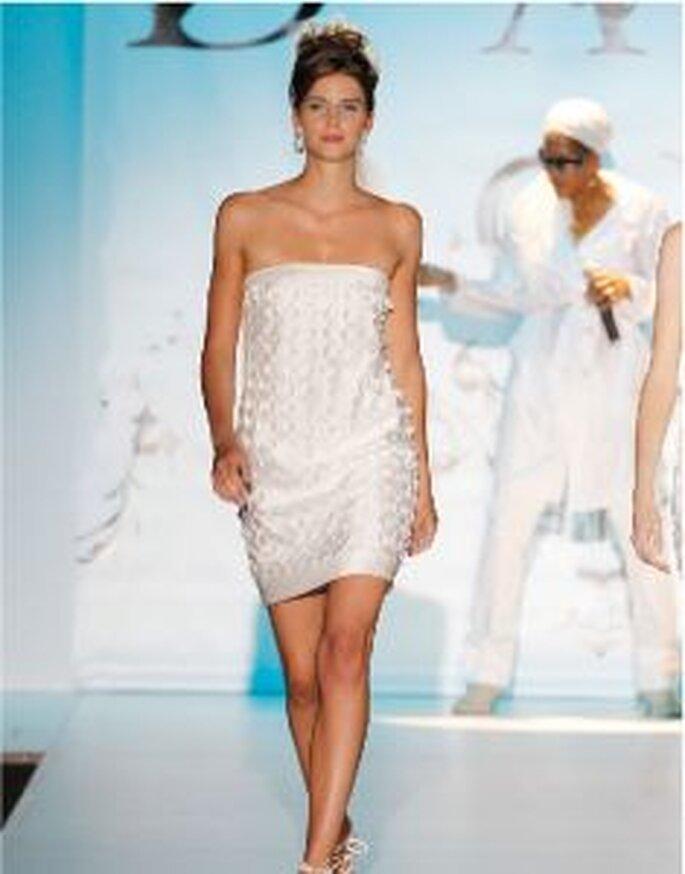 Trend 2011: Kurze Brautkleider Novia D'Art