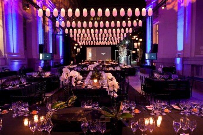 La decoración oriental de la sala del Palacio de Cibeles también me recordaba a las bodas