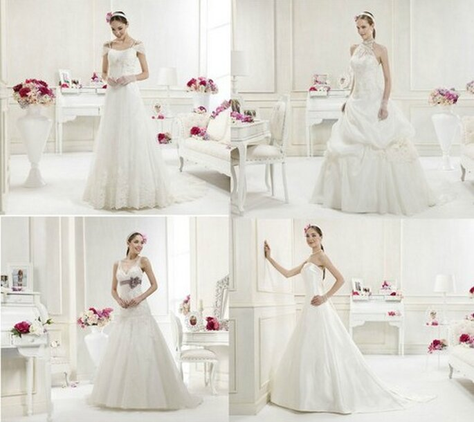 La Collezione 2012 di Colet si distingue per la grande varietà di stili adatti a tutte le spose...impossibile non trovare il modello adatto!