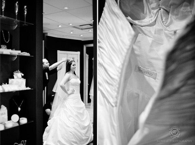 Luce espectacular con un vestido que vaya acorde con tu personalidad - Foto Rowell Photography