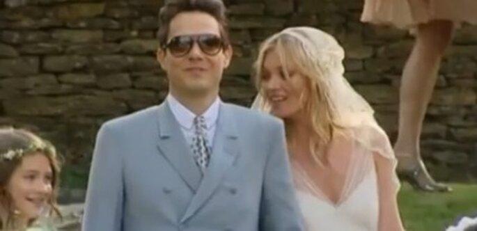 Kate Moss se casa con el guitarrista 'The Kills' Jamie Hince