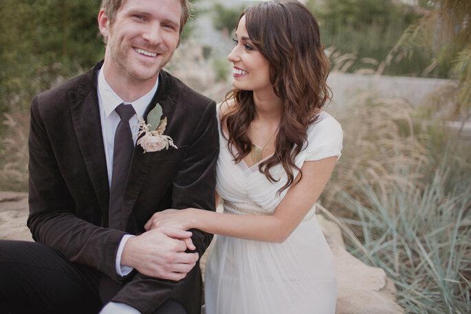 Mariage bohémien chic. Photo: Love Is A Big Deal