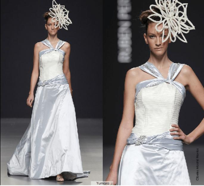 Vestido Yumara, colección 2012 Rubén Perlotti