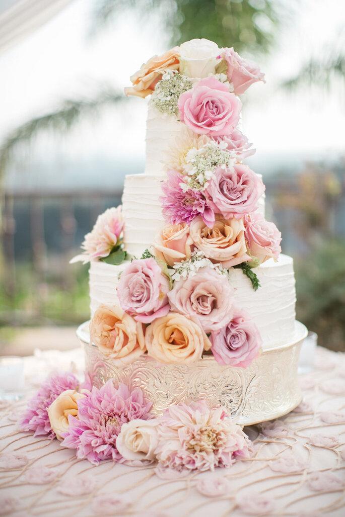 Una boda con estilo fresco y shabby chic - Jasmine Star