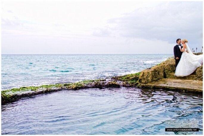 Xcaret, una locación perfecta para tus fotografías de boda - Foto Antonio Saucedo