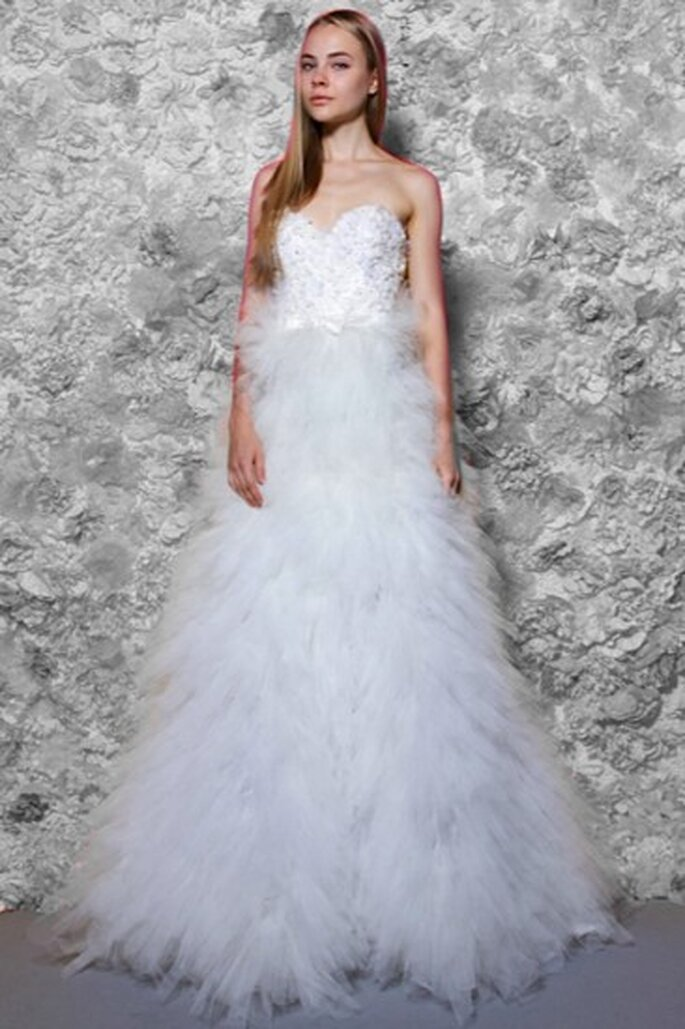 Vestidos de novia románticos. Foto de TULLE New York.