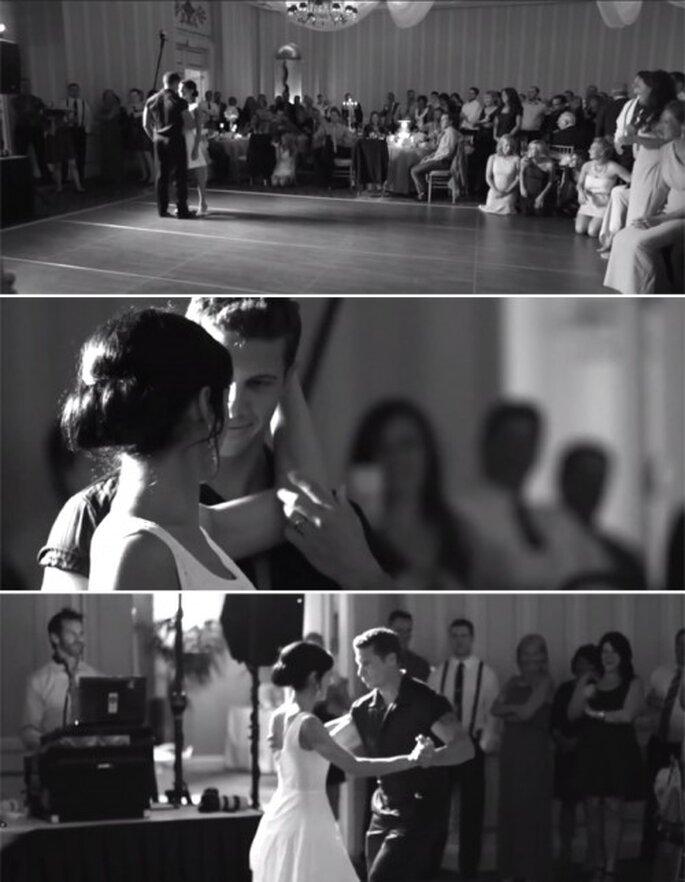 """Baile inspirado en la canción """"Time of my life"""" - Foto Joe Pollock Films YouTube"""