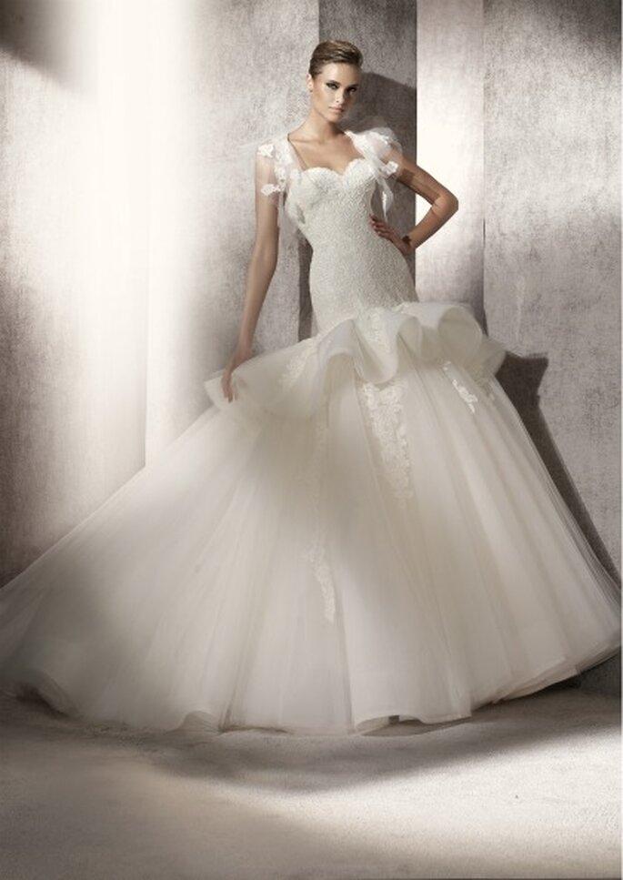Vestidos de novia Manuel Mota para Pronovias 2012 - Prado