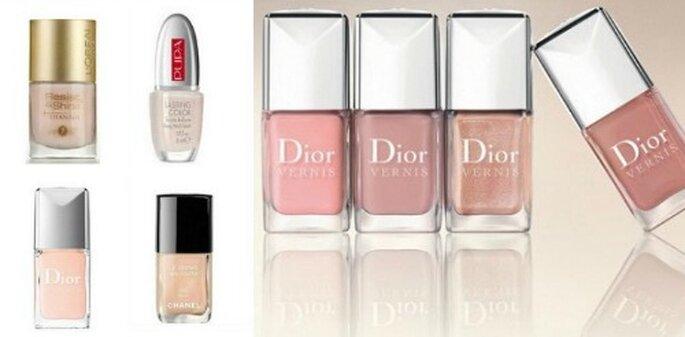 Ecco alcune proposte nude. L'Oreal Paris, Pupa Milano, Dior Vernis e Chanel Le Vernis.