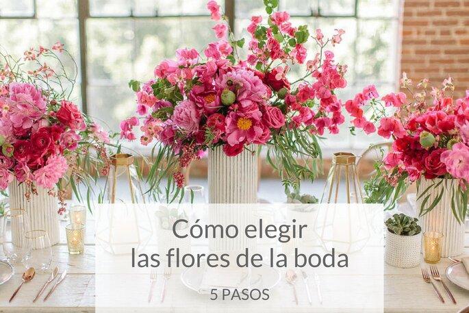 Cómo elegir las flores de la boda