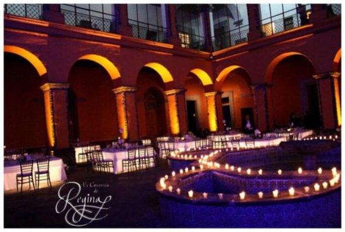 Espacios llenos de majestuosidad y elegancia para tu boda - Foto Ex Convento de Regina