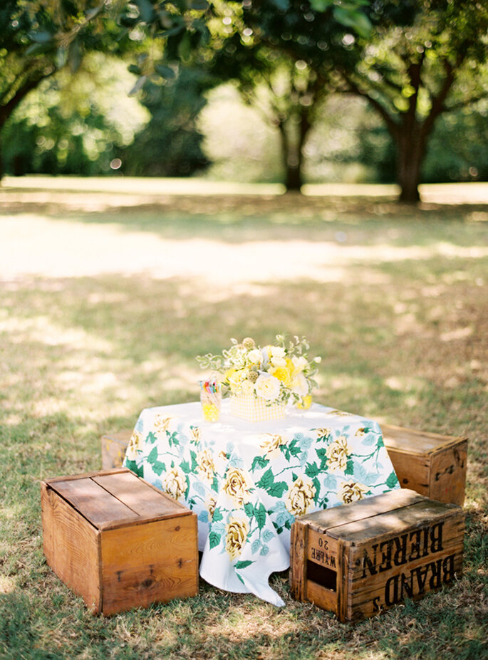 Una boda con detalles country - Foto Ryan Ray