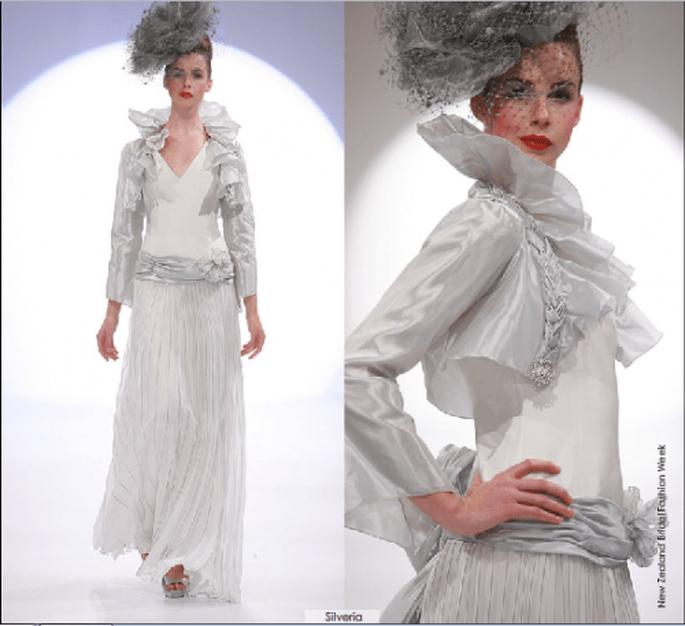 Vestido Silveria, colección 2012 Rubén Perlotti
