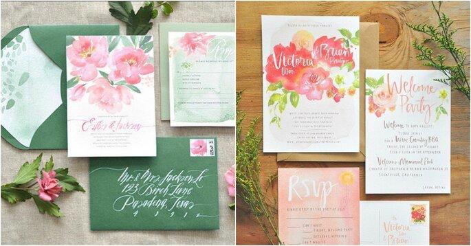 Imagen invitaciones de boda de Juliesongink