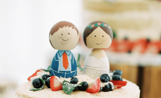 Alternativas deliciosas para el pastel de bodas - Rebecca Hollis Photography