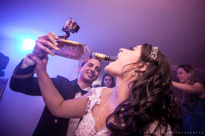 Câmera acoplada na garrafa de bebida - Foto: Vcruz + Vinte Filme e Fotografia