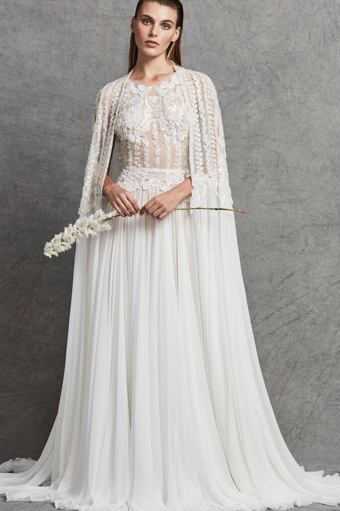 Vestidos de novia cuello redondo