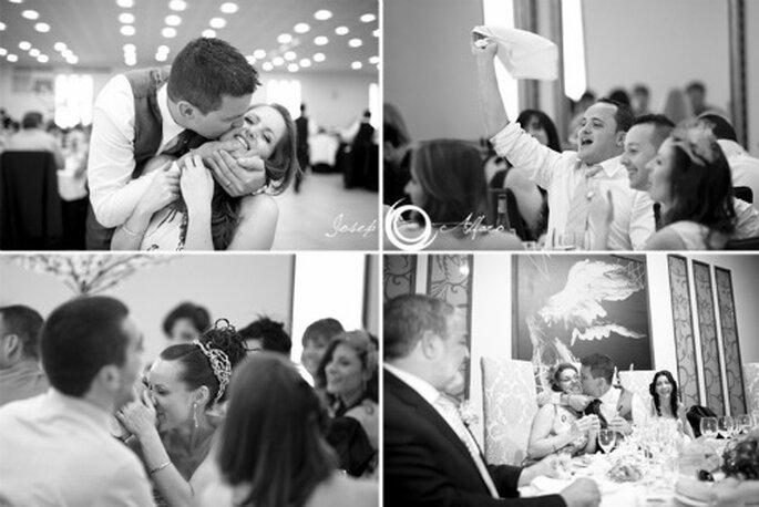 Wenn Sie alle 101 Punkte unserer Checkliste beachten, können Sie ausgelassen und unbeschwert Ihre Hochzeit feiern. Foto: Josep Alfaro.