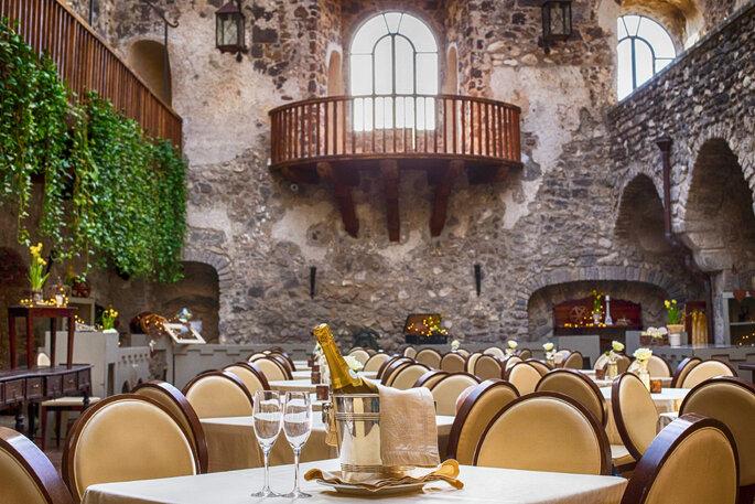 Castello di Limatola - banchetto nuziale